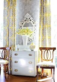 Yellow And White Curtains Canada by Grey And Yellow Curtains U2013 Teawing Co