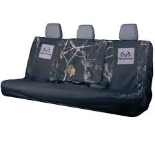 100 Truck Seat Cover Realtree Switch Back Black Bench Realtree Camo