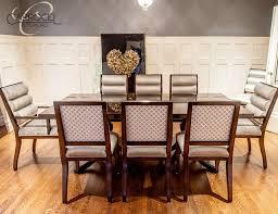 Art Deco Dining Room Furniture Custom Mahogany Table With Colina