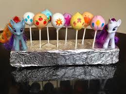 Jen Food My Little Pony Cake Pops