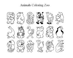 Zoo Coloring Sheet 2017 16843 Cute Animal Pages