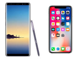 iPhone X vs Samsung Note 8 Digital graphy Review