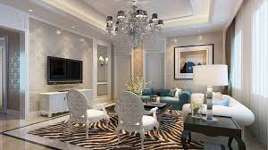 Classic Style Living Room Luxurious Ideas With Amazing Lighting Arrangement