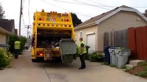 City Of Milwaukee Garbage Truck CNG Mack Leu Heil Powertrak RL 32540 ...