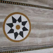 Marble Floor Border Design