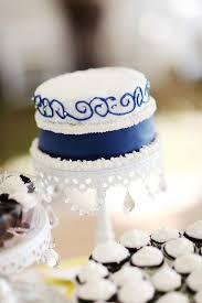 Navy Blue Rustic Wedding Cake Inspiration Yellow Colorado
