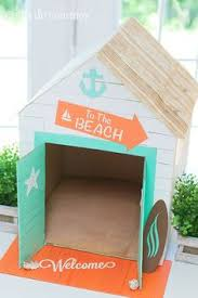Cabana Inspired Cat Or Dog House