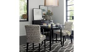 Crate And Barrel 2 Floor Lamps by Halo Ebony Round Dining Table With 48