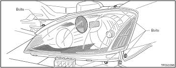 nissan altima headl assembly replacement procedure nissanhelp