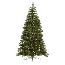 Artificial Douglas Fir Christmas Tree by Artificial Christmas Trees Prelit Wall Artificial Christmas