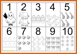 Coloring For Kids Pages To Print Out Numbers Shocking With Number
