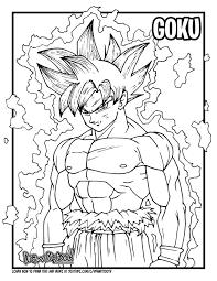 13 Goku Lineart Ultra Instinct Black White For Free Download On