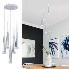 BlackWhite Modern LED Ceiling Light Surface Mount Lamp Home Bedroom Living Room