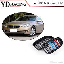 5 Series F10 ABS Mesh Gloss Auto Front Grill Grille For BMW F10 ...