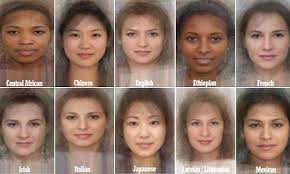 The Average Woman Revealed Study Blends Thousands Of Faces To Find What Worlds Women Look Like