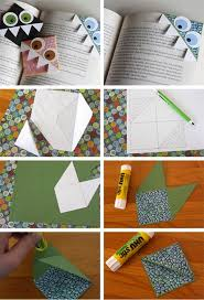 Page Corner Bookmark For Kids Easy Craft Ideas To Make At Home Step By