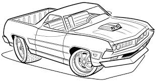 Printable Cars Coloring Pages Transportation Truck Sheets For Kids Police