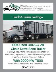 Truck Bodies & Dump Box Trailers For Sale | DANCO Trailers Used Trailers For Sale From Sotrex Imperial Trucks Home Ak Truck Trailer Sales Aledo Texax And Schneider Has Over 400 Trucks On Clearance Visit Our Volvo Alden Your Source Equipment Van For N Magazine Semi Sale In Texas New Atlantic Utility Inc Service Smoky Jennings Diesel