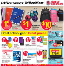 fice Max fice Depot Back to School Deals for the week of July