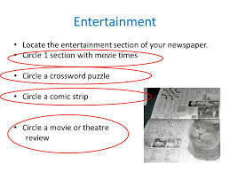 Parts of a Newspaper What is a newspaper A newspaper is a