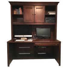 Raymour And Flanigan Corner Desks by Ethan Allen British Classics Desk U0026 Hutch Aptdeco