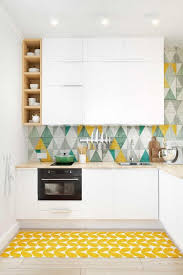 papier peint cuisine gris papier peint cuisine gris cuisine moderne jaune villeurbanne