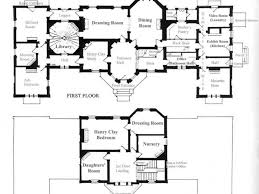 Highclere Castle First Floor Plan by Home Plan English Country Cottage Plans House Silvergate Kevrandoz