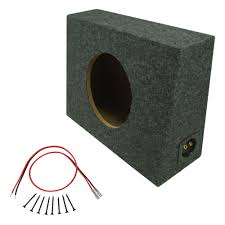 Car Audio Sealed 10 Inch Regular Cab Truck 3/4