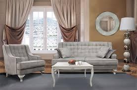 couchgarnitur mokko modernes barock hellgrau weiß