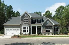 Homes by Dickerson for a Traditional Exterior with a Flagstone and