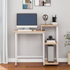 fangqi computertisch schreibtisch computertisch pc tisch bürotisch arbeitstisch für büro wohnzimmer schule metallrahmen kaufen otto
