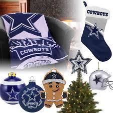 Dallas Cowboys Christmas Ornaments Stocking Tree Topper Blanket