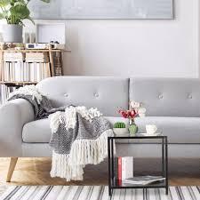 beistelltisch modernes design wohnzimmer glas metall