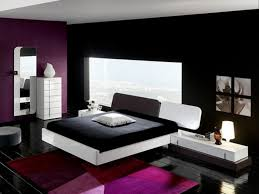 Wonderful Black And White Bedroom Designs With Red Excerpt Ikea How To Decorate Lofty