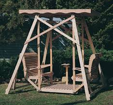 outdoor wooden swing plans outdoor furniture plans canopy swing