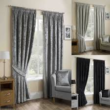 Ebay Curtains With Pelmets Ready Made by Crushed Curtains Velvet 3