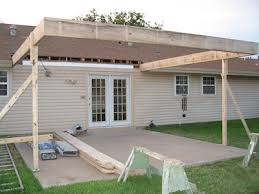 Patio Cover Construction Plans