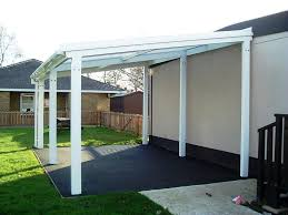 Louvered Patio Covers Phoenix by Aluminium Free Standing Canopy Lean To Patio Cover Carport Ebay