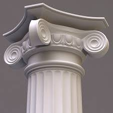3ds column doric order column wood Pinterest