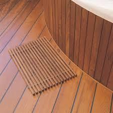 skagerak badezimmer matte teakholz