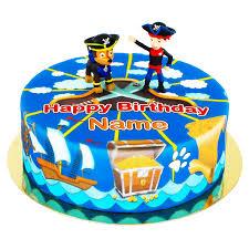 paw patrol auf piraten torte