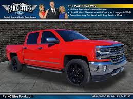 Used 2017 Chevy Silverado 1500 LTZ RWD Truck For Sale In Dallas TX ...