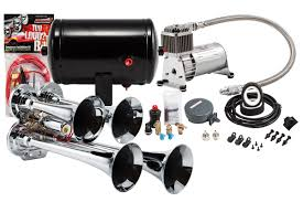 Model HK4 Chrome Quad Air Horn Kit – Kleinn Air Horns For Sale Black Truck Train Quad 4 Trumpet Air Horn Kit 150 Psi 12v Maximus Iv Kits Hornblasters On Twitter We Get Asked A Lot What Direction Do You Kleinn Pro Blaster Features Dual 12v Car 12 Volt Compressor 16ft Hose Db Hornblasters Outlaw 232 Chrome Horn Ram 1500 From Train Horns Delivered Youtube Jeep Wrangler Onboard And Horns Ford F250 F350 Super Duty Sdkit734