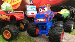 Disney Pixar Cars Toon : Monster Truck Mater & McQueen In My Room ...