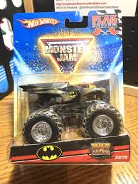 100 Monster Truck Batman 2009 MONSTER JAM BATMAN FLAG SERIES 3375 Now Then Forever