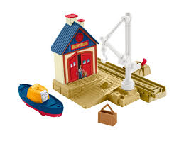 Trackmaster Tidmouth Sheds Playset by Captain At The Rescue Center Thomas And Friends Trackmaster Wiki