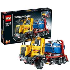 LEGO Technic 42024: Container Truck: Amazon.co.uk: Toys & Games 1 X Lego Brick Set For Technic Model Traffic 8285 Tow Truck Model Arctic End 132016 503 Pm 8052 Container Speed Build Review Youtube Lego Stunt 42059 Iwoot 42041 Race Rebrickable With Lls Slai Ir Tractor Amazoncom Pickup 9395 Toys Games The Car Blog Service Buy Online In South Africa Takealotcom Roadwork Crew 42060