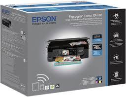 Epson Expression Home XP 440 Wireless All In e Printer Black