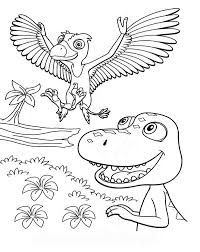 Free Dinosaur Train Coloring Pages For Kids