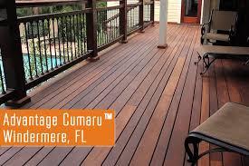 Cumaru Hardwood Flooring Canada by Elegant Cumaru Decking In Florida Featured Deck Project Youtube